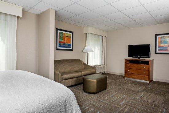 Max Meadows, VA: King Bedroom