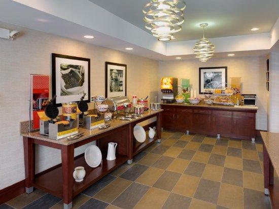 South Plainfield, Нью-Джерси: Breakfast Area