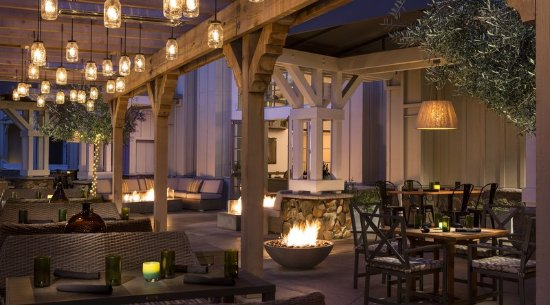 Argonaut Hotel, A Noble House Hotel: Restaurant Outdoors Evening