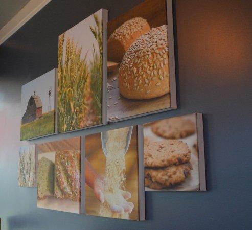 Cornelius, NC: Bakery Collage on Wall Art