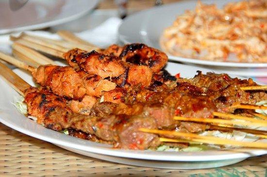 Evening Denpasar Night Street Food...