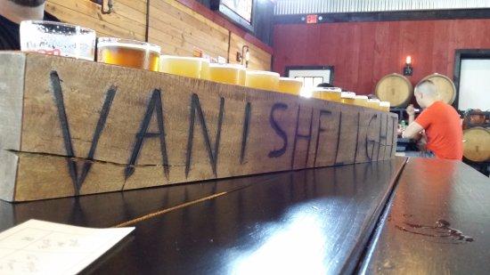 Leesburg, VA: Vanish Beer Flight