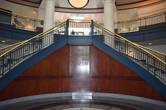 National Civil War Museum: Entrance