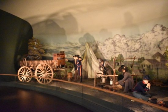 National Civil War Museum: Diorama