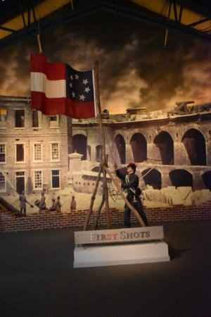 National Civil War Museum: Fort Sumpter Diorama