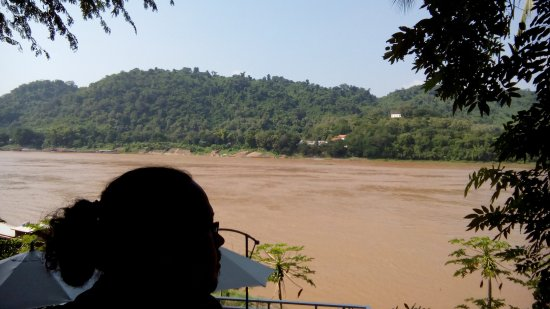 Sayo River Guest House: hotel very close proximity to Mekong