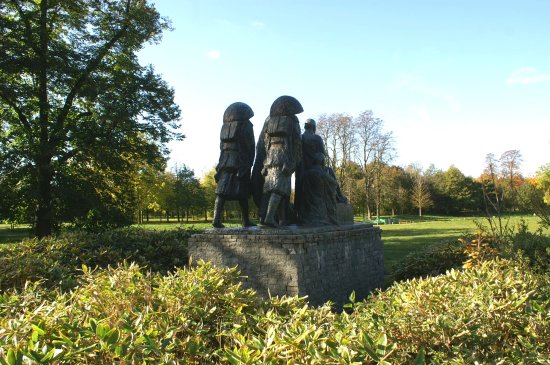 Les Statues de Pelerins Zen