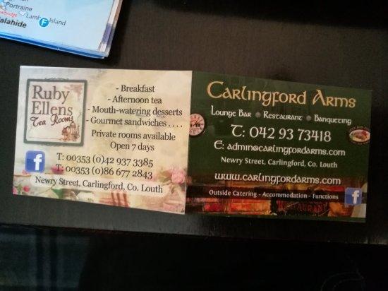 Carlingford Arms : IMG_20171104_145243_large.jpg