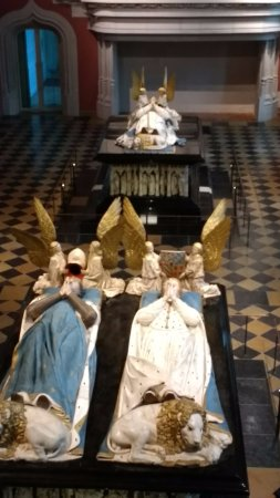 Ducal Palace: The tombs of two of the Dukes of Burgundy
