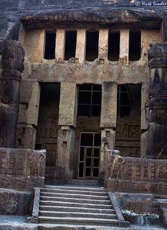 Kanheri Caves: One of the main caves