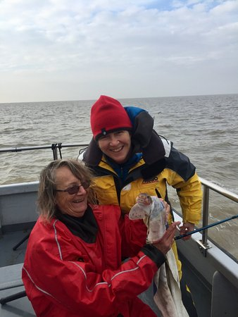Brightlingsea, UK: 2 Middle Age Ladies Fishing Charter