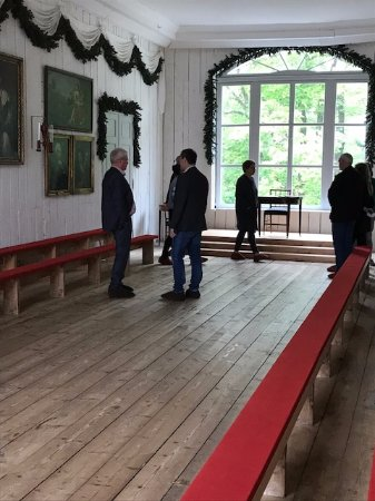 Eidsvoll 1814: In this room the constitution was actually written and agreed by the 112 men