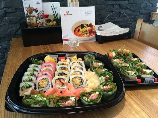 Sushi Kushi: Gotowe dla klienta