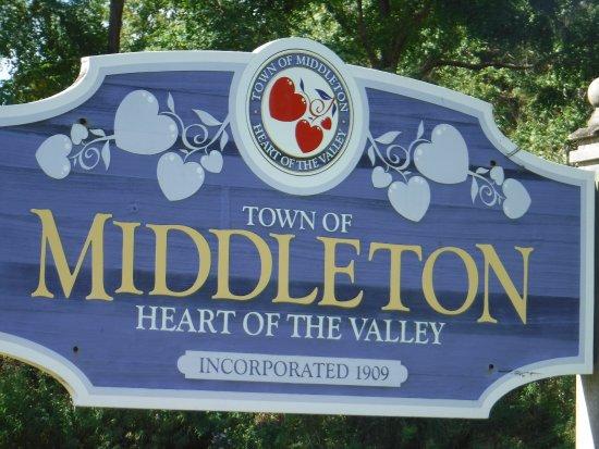 Entrée de ville de Middleton NS
