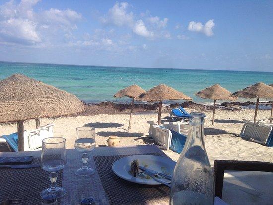 Sentido Djerba Beach Le Déjeuner Sur La Plage Excellent