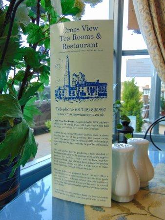 Cross View Tea Rooms Restaurant North Yorkshire