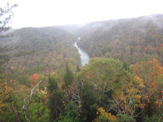 Big South Fork National River & Recreation Area: Big South Fork Bear Creek Overlook