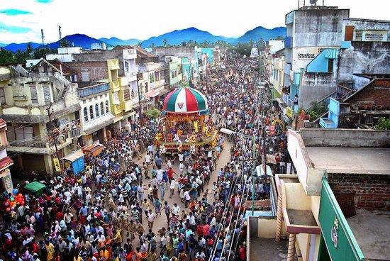 Ganjam, Hindistan: Rath Yatra..
