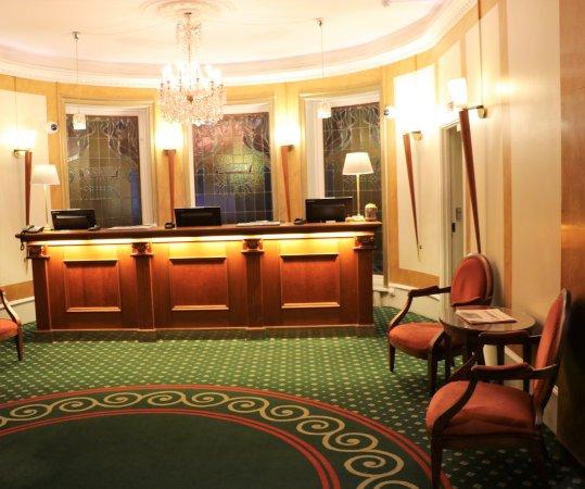 Grand Hotel Copenhagen Rezeption Pt Zum