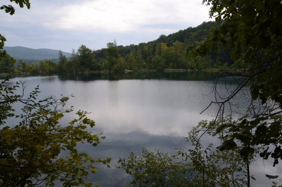 Plitvice Lakes National Park, โครเอเชีย: Jezioro Okrugljak