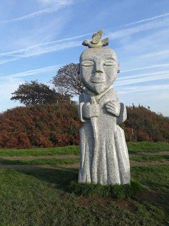 La Vall 233 E Des Saints Bient 244 T 100 Statues En Granit