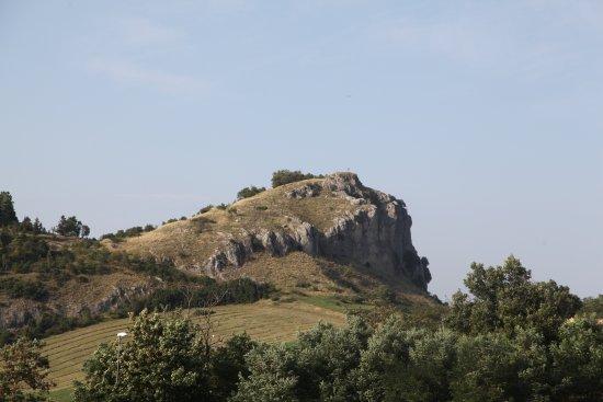 San Leo, อิตาลี: Вид на окрестности