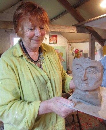 Tiverton, UK: Clay Goddess workshop