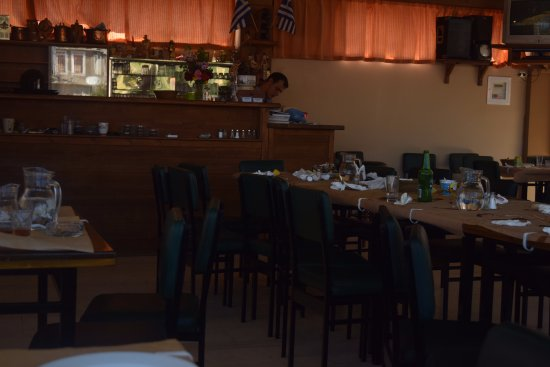 Kosmas, Greece: The restaurant
