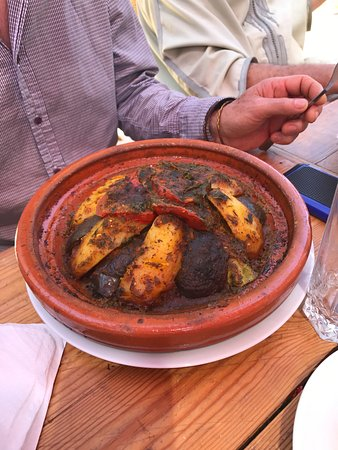 Amal : Very tasty Chicken Tagine - highly recommended