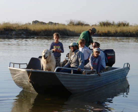 Rundu, Namibia: Fun on the river