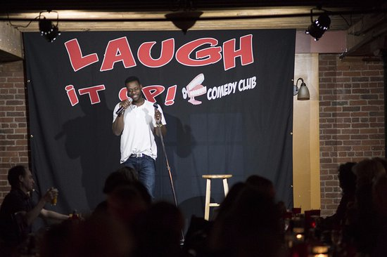 Laugh it up! Comedy Club: Monty Mason is on a roll!