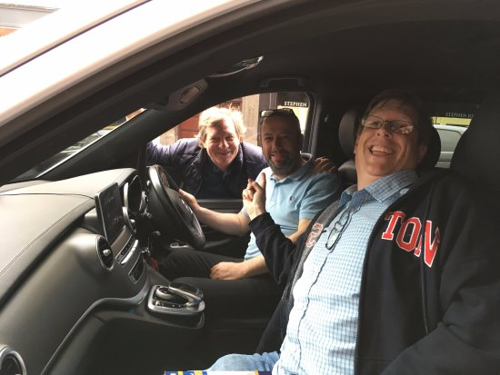 Liverpool Beatles Tours : With Ian (the best driver of the world) and David