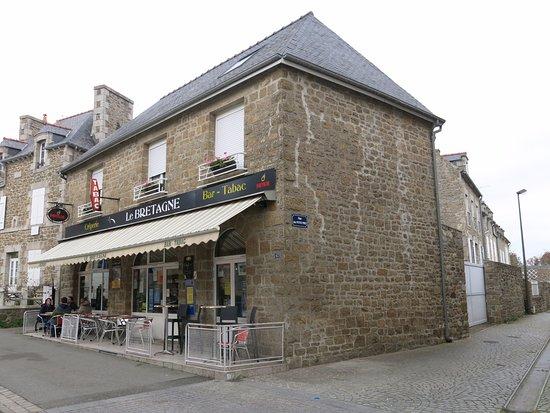 Saint-Jacut-de-la-Mer, Fransa: Vue extétieure de l'établissement.