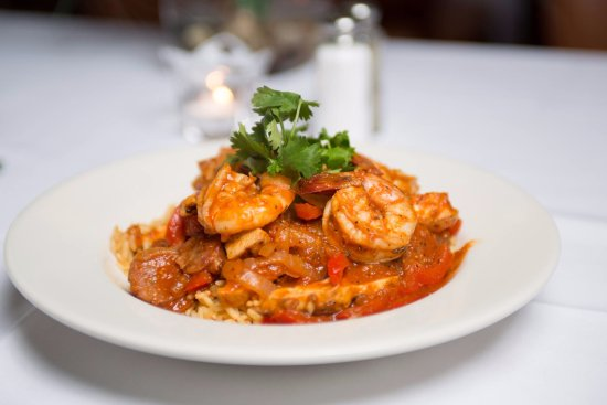 Laugh it up! Comedy Club: Cajun Seafood Pasta!