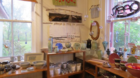 Woodside Pottery & Gallery Craighurst: This shows more art from local artists