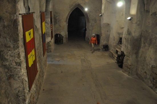 Rocca Grimalda, İtalya: La cave avec notre charmante guide