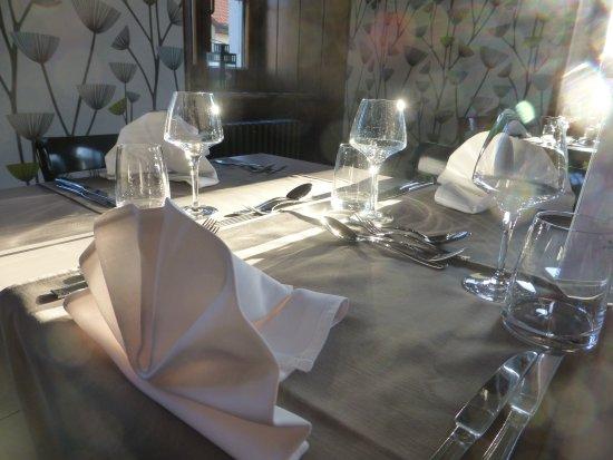 Sainte-Croix, Suíça: Alles ist bereit für die Gäste