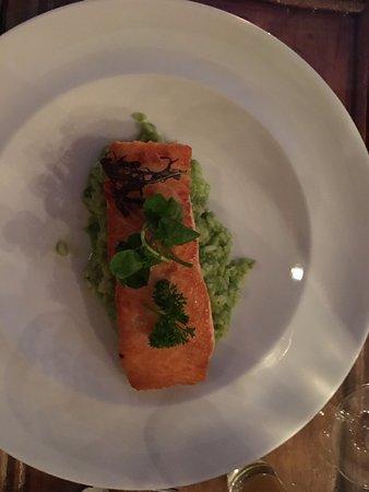 Restaurant La Concepcion: Salmon and Avocado Risotto