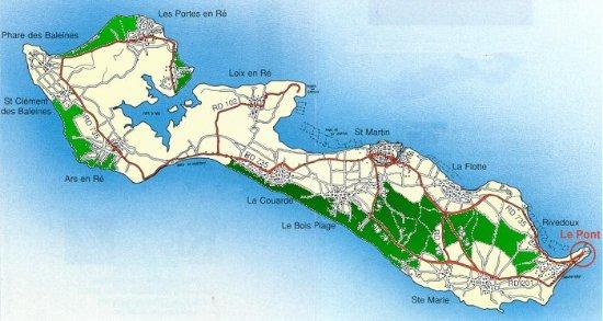Office de Tourisme Destination île de Ré: plan