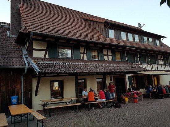Neuried, Deutschland: Drinnen kan man es ebenfalls gut aushalten