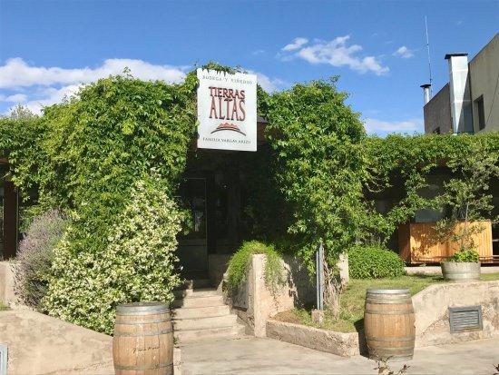 Lujan de Cuyo, Argentina: Winery Entrance