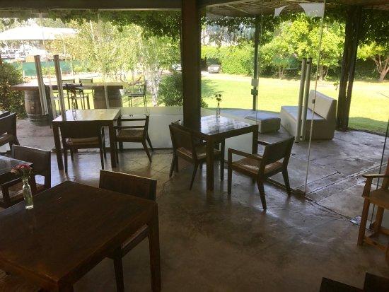 Lujan de Cuyo, Argentina: Part of the restaurant area at Tierras Altas