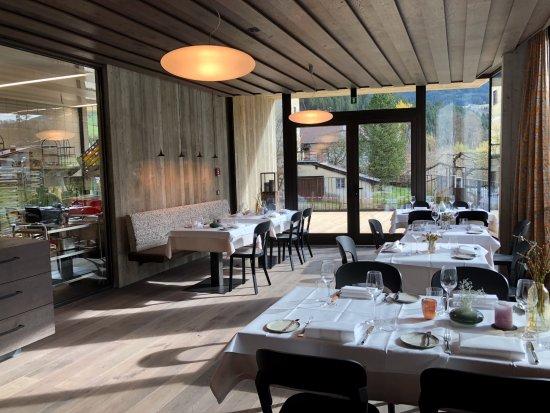 Aurach bei Kitzbuehel, Østrig: Im Restaurant