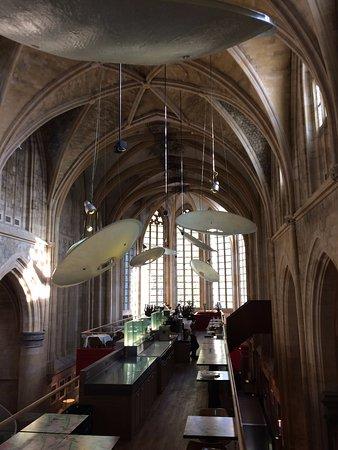 Kruisherenhotel Maastricht: This is the breakfast room