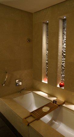 Ein kleiner Teil des Badezimmers