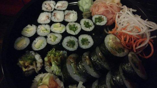 Sushi Room: Bardzo smacznie