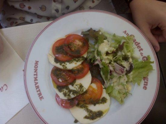 ensalada italiana o caprese