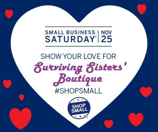 Hyde Park, NY: #SmallBusinessSaturday 2017 at #SurvivingSistersBoutique, Sat., Nov. 25th, #ShopSmall & Large