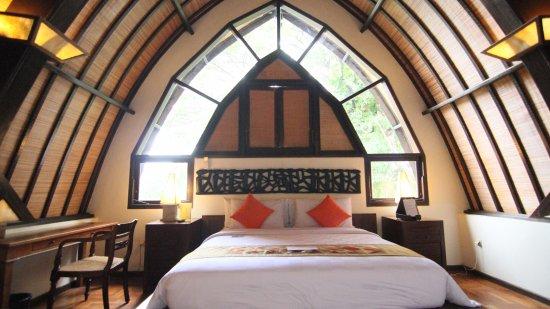 Hotel Vila Lumbung : top room at family room