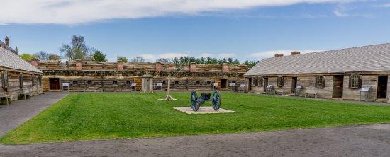 Fort Stanwix National Monument: A l'intérieur du fort -